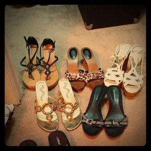 Summer shoe lot